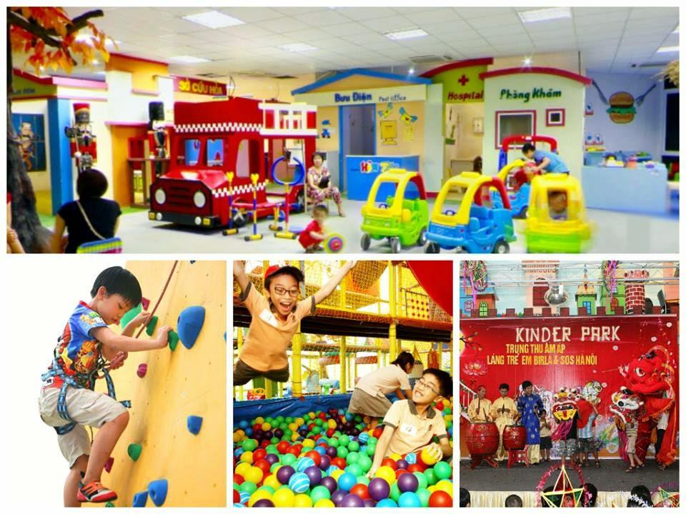 Khu vui chơi trẻ em tại Times City