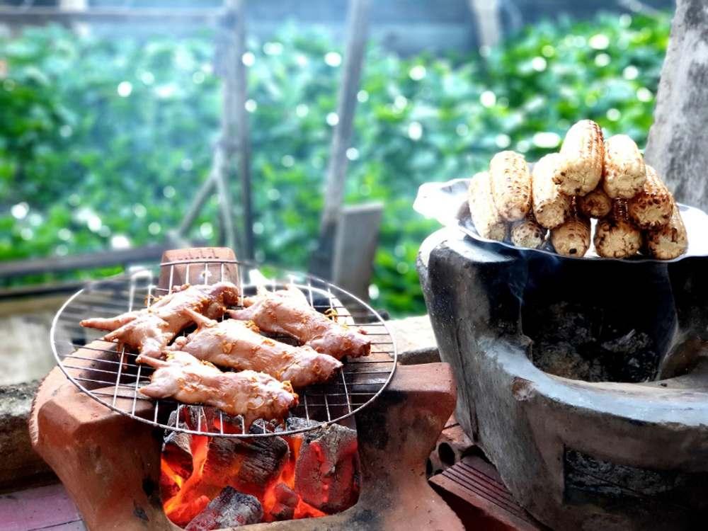 Chuột đồng nướng, Vĩnh Long