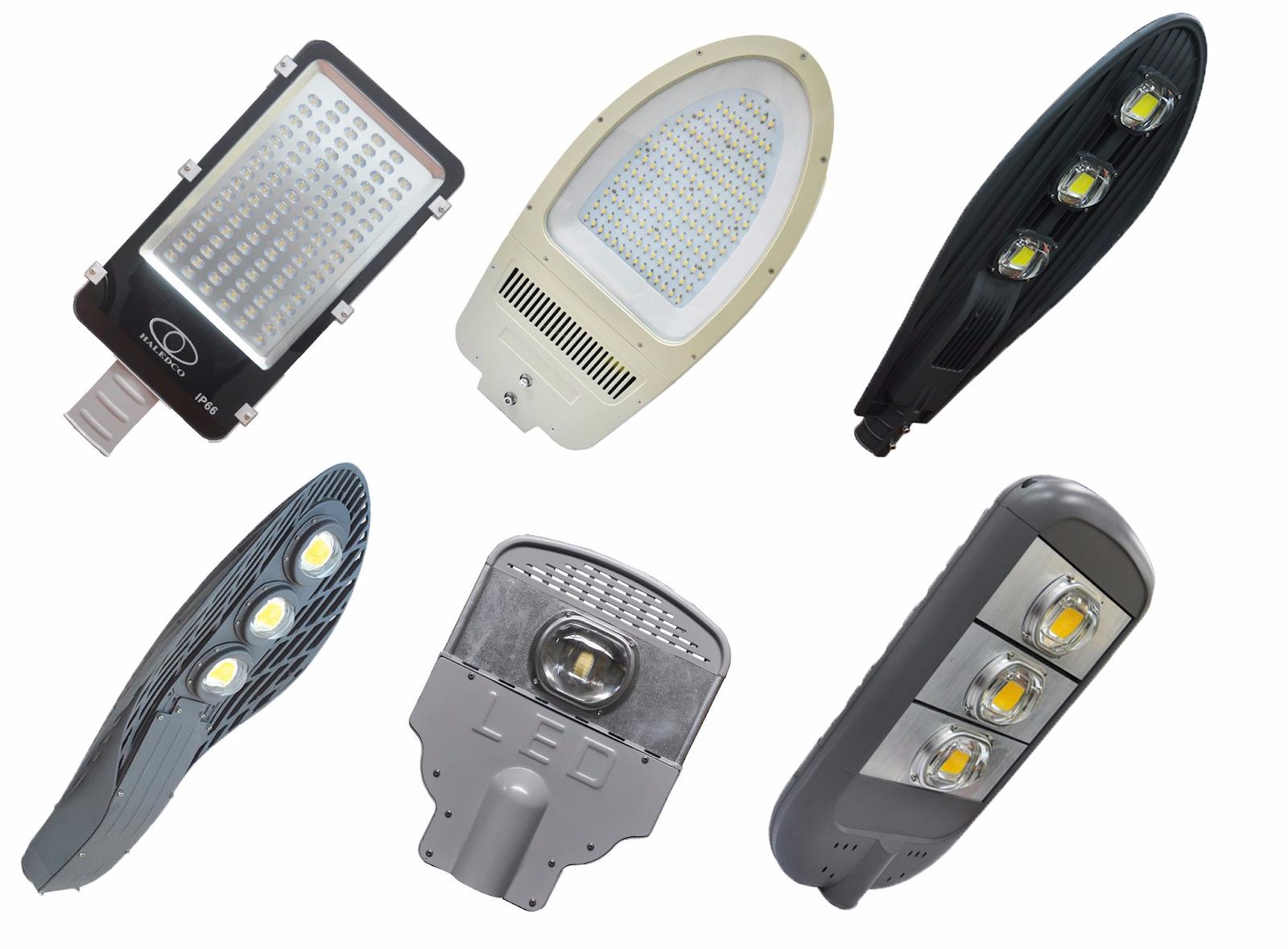 Hệ thống kiểu dáng đèn đường LED