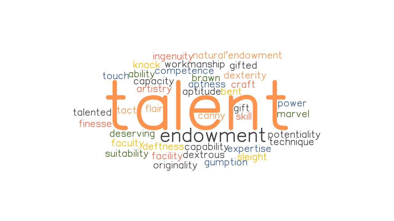 TALENT: Synonyms and Related Words. What is Another Word for TALENT? -  GrammarTOP.com